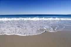 pristine strand royaltyfri bild