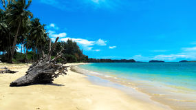 Pristine Wandoor Beach. On a sunny day, Port Blair, Andaman and Nicobar Islands, India, Asia Royalty Free Stock Image