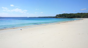 Pristine water at Greenfields Beach Jervis Bay Stock Images