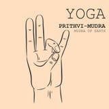 Prithvi-Mudra Стоковые Изображения RF