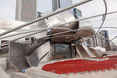 Pritzker Pavilion Royalty Free Stock Images