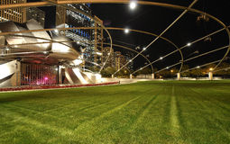 Pritzker Pavillion closeup. Stock Images