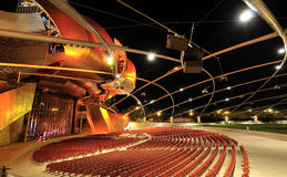 Pritzker Pavillion concert area. Royalty Free Stock Images