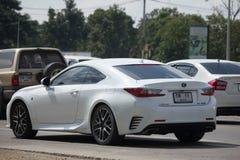 Privé auto, de Hybride van Lexus RC 300H Royalty-vrije Stock Foto's