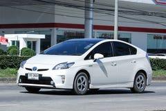 Privé auto, het Hybride Systeem van Toyota Prius Royalty-vrije Stock Fotografie