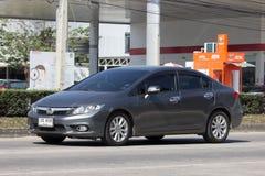 Privé auto, Honda Civic Op weg nr 1001 Royalty-vrije Stock Afbeelding