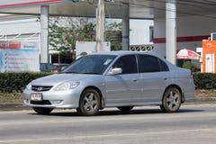 Privé auto, Honda Civic Op weg nr 1001 Royalty-vrije Stock Foto