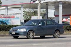 Privé auto, Honda Civic Op weg nr 1001 Royalty-vrije Stock Fotografie