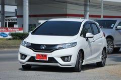 Privé auto, Honda Jazz Royalty-vrije Stock Afbeelding