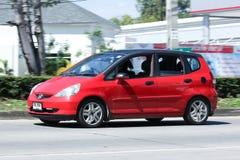 Privé auto, Honda Jazz Stock Afbeeldingen