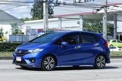 Privé auto, Honda Jazz Royalty-vrije Stock Fotografie
