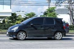 Privé auto, Honda Jazz Royalty-vrije Stock Foto's