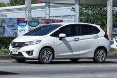 Privé auto, Honda Jazz Stock Afbeelding