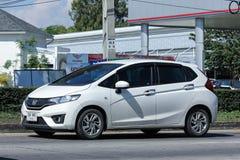 Privé auto, Honda Jazz Royalty-vrije Stock Afbeeldingen