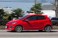 Privé auto, Mazda 2 Royalty-vrije Stock Afbeeldingen