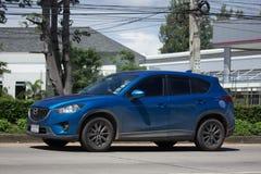 Privé auto, Mazda CX-5, cx5 Stock Foto's