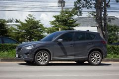 Privé auto, Mazda CX-5, cx5 Royalty-vrije Stock Afbeelding