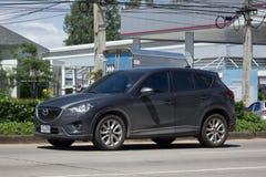 Privé auto, Mazda CX-5, cx5 Stock Afbeelding