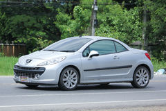 Privé auto, Peugeot 207 Royalty-vrije Stock Fotografie