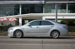 Privé auto Toyota Camry Royalty-vrije Stock Fotografie