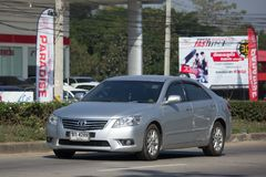 Privé auto Toyota Camry Royalty-vrije Stock Foto's