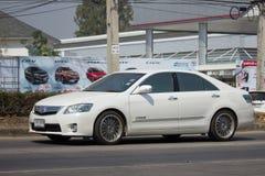 Privé auto Toyota Camry Stock Afbeelding