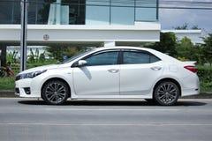 Privé auto, Toyota Corolla Altis royalty-vrije stock fotografie