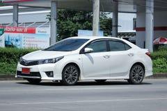 Privé auto, Toyota Corolla Altis stock foto's