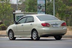 Privé auto, Toyota Corolla Altis royalty-vrije stock afbeeldingen