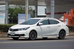 Privé auto, Toyota Corolla Altis stock afbeeldingen