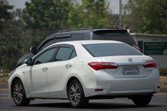 Privé auto, Toyota Corolla Altis stock fotografie