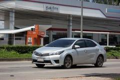 Privé auto, Toyota Corolla Altis Elfde generatie stock fotografie