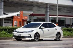 Privé auto, Toyota Corolla Altis Elfde generatie royalty-vrije stock afbeelding