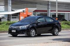 Privé auto, Toyota Corolla Altis Elfde generatie royalty-vrije stock fotografie