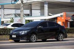 Privé auto, Toyota Corolla Altis Elfde generatie royalty-vrije stock foto's