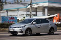 Privé auto, Toyota Corolla Altis Elfde generatie stock foto