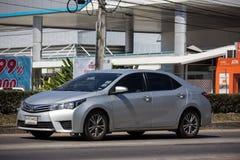 Privé auto, Toyota Corolla Altis Elfde generatie royalty-vrije stock foto