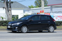 Privé auto Toyota Yaris Royalty-vrije Stock Afbeelding
