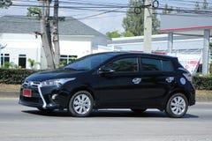 Privé auto Toyota Yaris Stock Fotografie