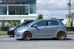 Privé auto, Toyota Yaris Stock Fotografie