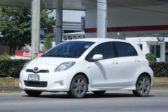 Privé auto, Toyota Yaris Stock Foto