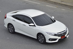 Privé Bestelwagenauto Honda Civic 2016 Stock Foto's