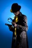 Privé-detective royalty-vrije stock fotografie