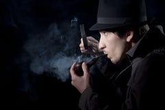 Privé-detective royalty-vrije stock foto