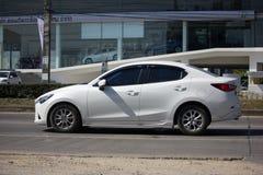 Privé Eco-auto Mazda 2 Stock Foto's