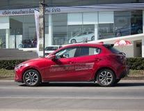 Privé Eco-auto Mazda 2 Stock Fotografie