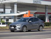 Privé Eco-auto Mazda 2 Royalty-vrije Stock Foto