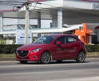Privé Eco-auto Mazda 2 Royalty-vrije Stock Afbeeldingen