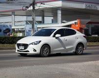 Privé Eco-auto Mazda 2 Royalty-vrije Stock Fotografie