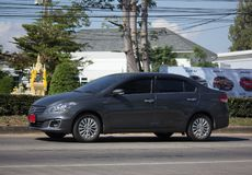 Privé Eco-auto, Suzuki Ciaz Royalty-vrije Stock Afbeelding
